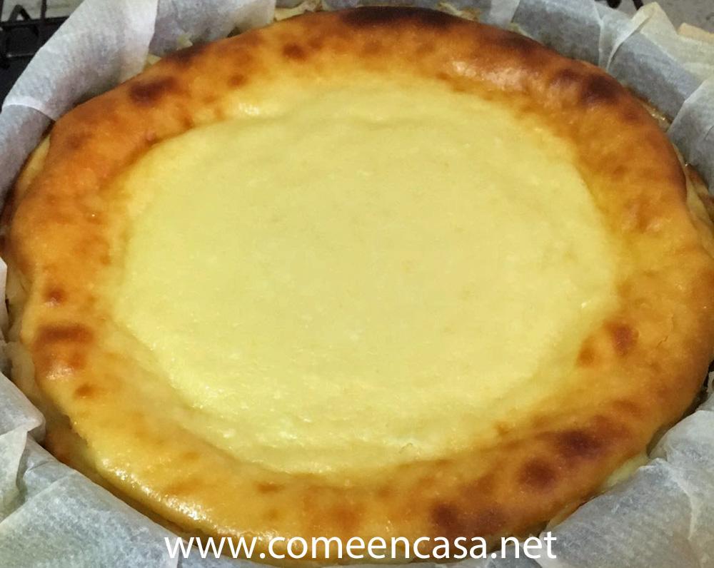 Tarta de queso de mi hermana