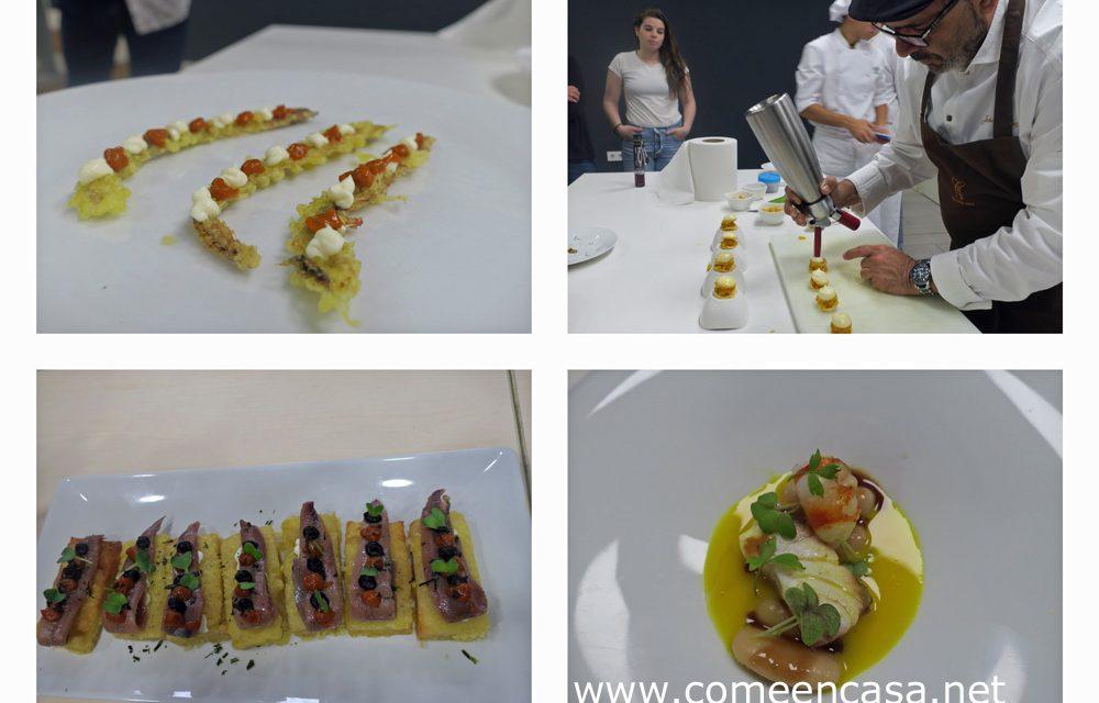 Congreso Gastronómico en la mejor Escuela (Jesús Sánchez)