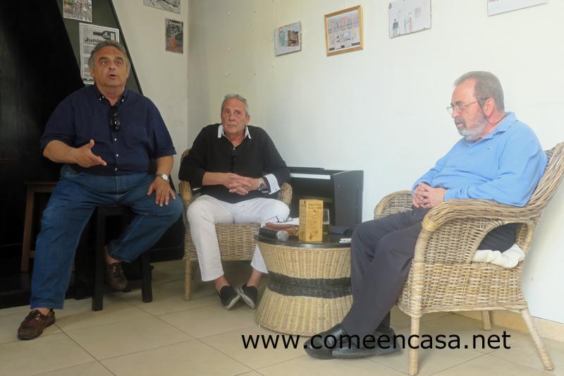 El Grupo Gastronómico Gaditano en La Casapuerta
