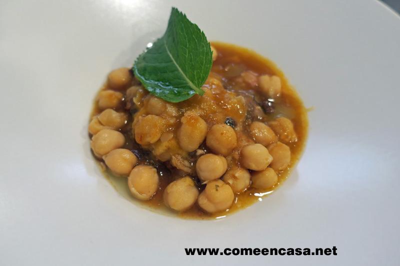 Garbanzos inolvidables de Chef Sierra (receta de Fernando Naranjo)