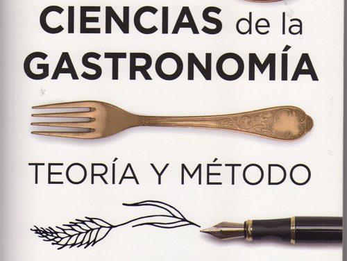 Ciencias de la Gastronomía, de Almudena Villegas