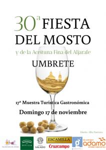 FIESTA DEL MOSTO Y LA ACEITUNA EN UMBRETE (Sevilla) @ LOCALIDAD DE UMBRETE (Sevilla)