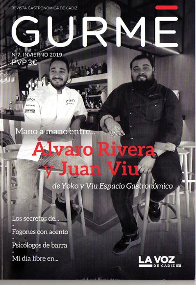 Llega Gurmé Cádiz, la revista gastronómica de Cádiz