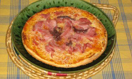 Pizza industrial para los niños pobres
