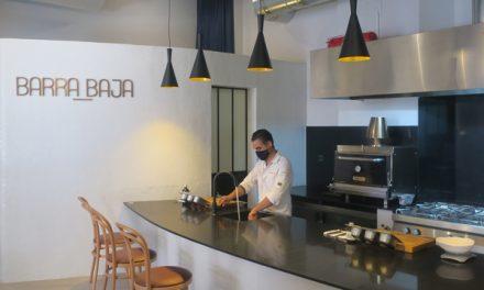 BARRA BAJA, la moderna alta cocina de Sevilla