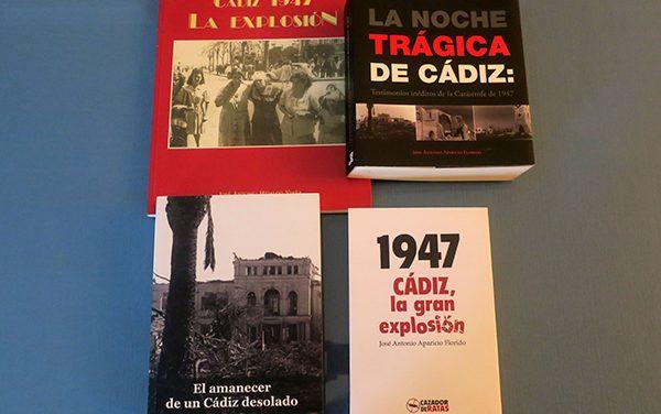 73 años de la explosión de Cádiz: los libros