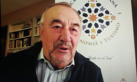 La Academia Sevillana de Gastronomía y Turismo con la aceituna y el mosto