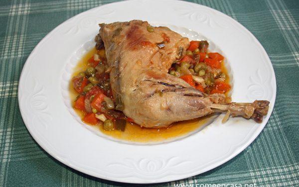 Muslitos de pollo, receta de mi madre