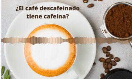Cafeína en el descafeinado