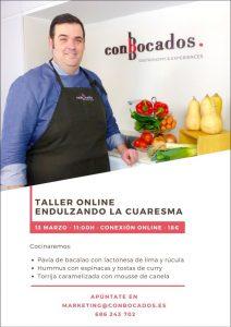 CONBOCADOS TALLER COCINA ONLINE @ TALLER ONLINE