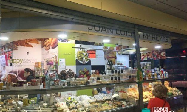 Especias y otros en el Mercado de la Encarnación (Sevilla)