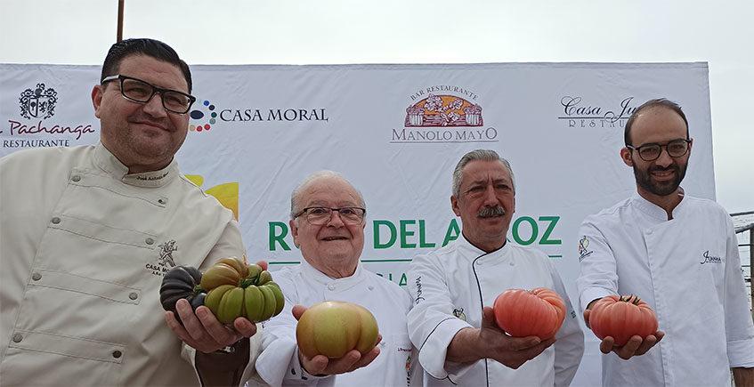 Homenaje al tomate sevillano