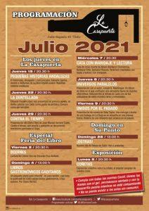 PROGRAMA JULIO BAR LA CASAPUERTA @ BAR LA CASAPUERTA