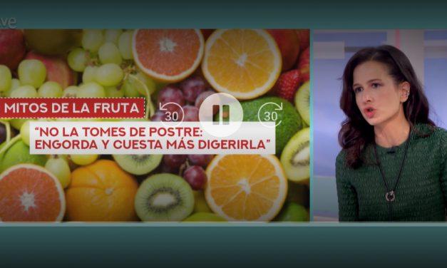 Fruta: la que quieras y cuando quieras, con Beatriz Robles