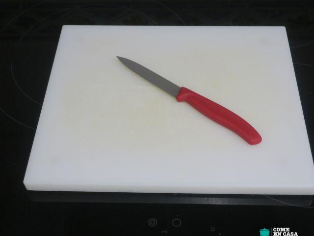 El cuchillo de confianza