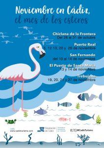 NOVIEMBRE, MES DE LOS ESTEROS EN LA PROVINCIA DE CÁDIZ @ ESTEROS DE CHICLANA, EL PUERTO DE SANTA MARIA, PUERTO REAL, SAN FERNANDO Y TREBUJENA (Cádiz).